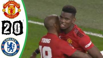 Video: Chelsea 0 - 2 Manchester United (Feb-18-2019) FA Cup Highlights
