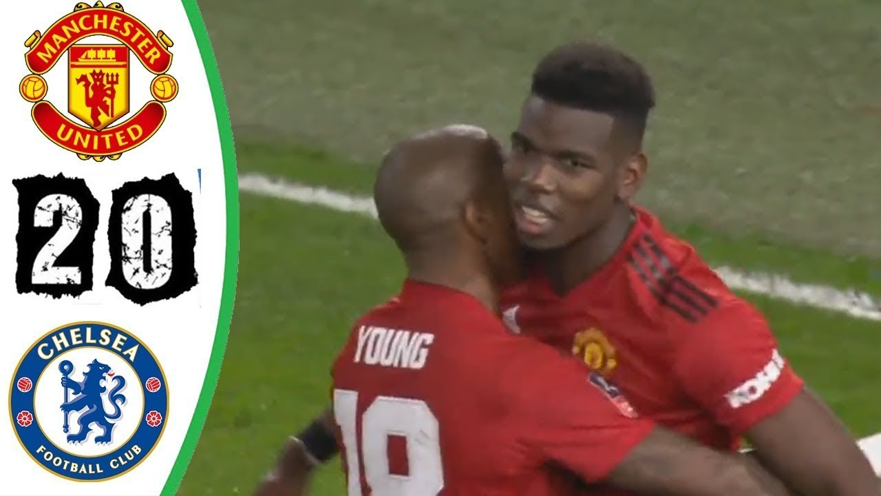 Chelsea 0 - 2 Manchester United (Feb-18-2019) FA Cup Highlights