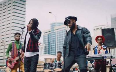 Video: Praiz - Hustle (feat. Stonebwoy)