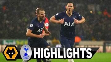 Video: Wolves 1 - 2 Tottenham (Dec-15-2019) Premier League Highlights