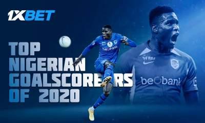 Top Nigerian Goalscorers of 2020