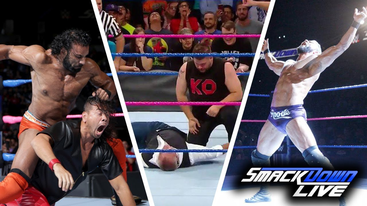 WWE SmackDown (Oct-3-2017) Highlights