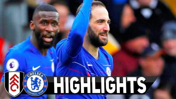 Fulham 1 - 2 Chelsea (Mar-03-2019) Premier League Highlights
