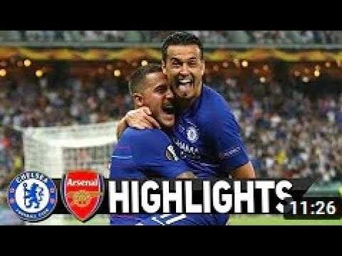 Chelsea 4 - 1 Arsenal (May-29-2019) UEFA Europa League Final Highlights