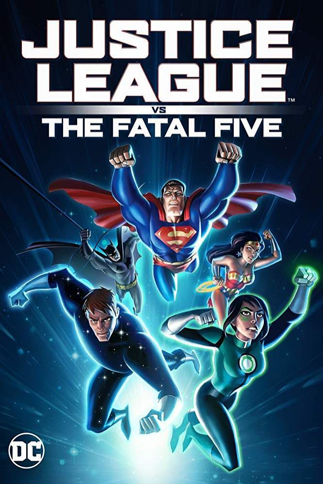 FRESH MOVIE :Justice League vs the Fatal Five (2019)