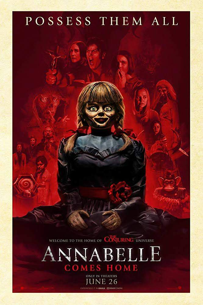 Movie: Annabelle Comes Home (2019) [HC-HDRip]