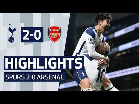 Video: Tottenham 2 - 0 Arsenal (Dec-06-2020) Premier League Highlights