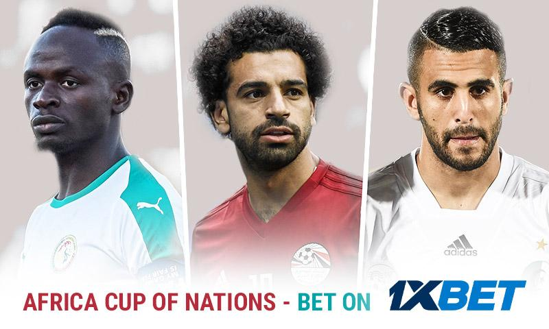 Win by Supporting Your National Team - Bet on the Africa Cup of Nations at 1xBet