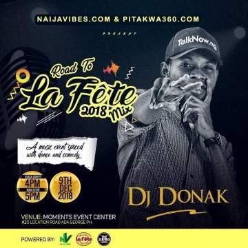 DJ Mix: DJ Donak - Road To La Fete 2018 Mix