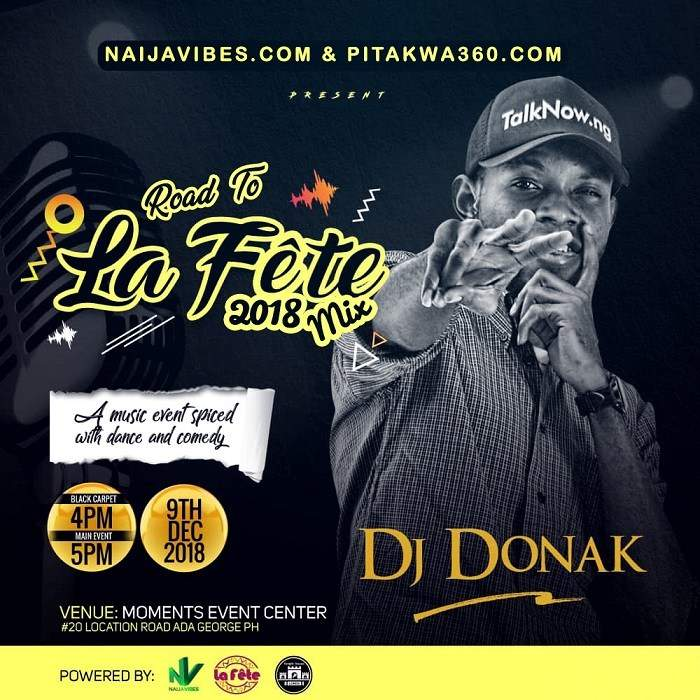 DJ Donak - Road To La Fete 2018 Mix