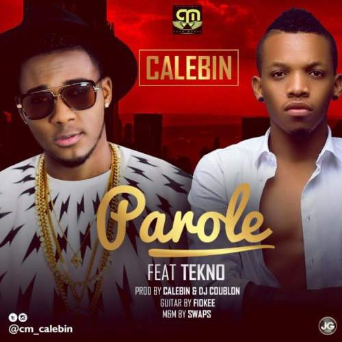 Calebin - Parole (feat. Tekno)