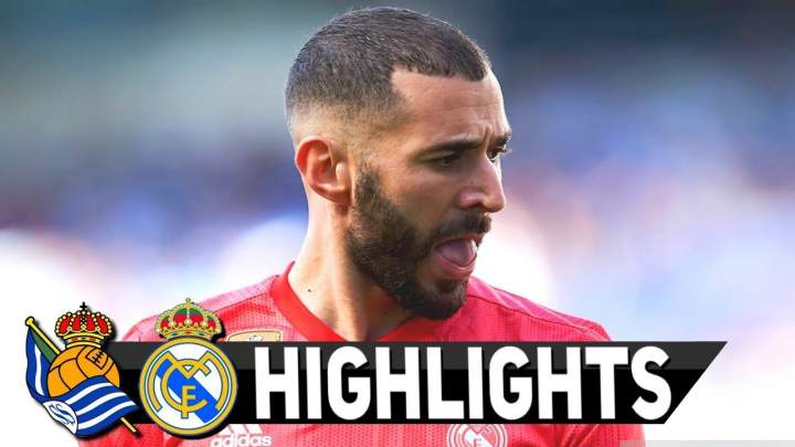 Real Sociedad 1 - 3 Real Madrid (12-MAY-2019) La Liga Highlights
