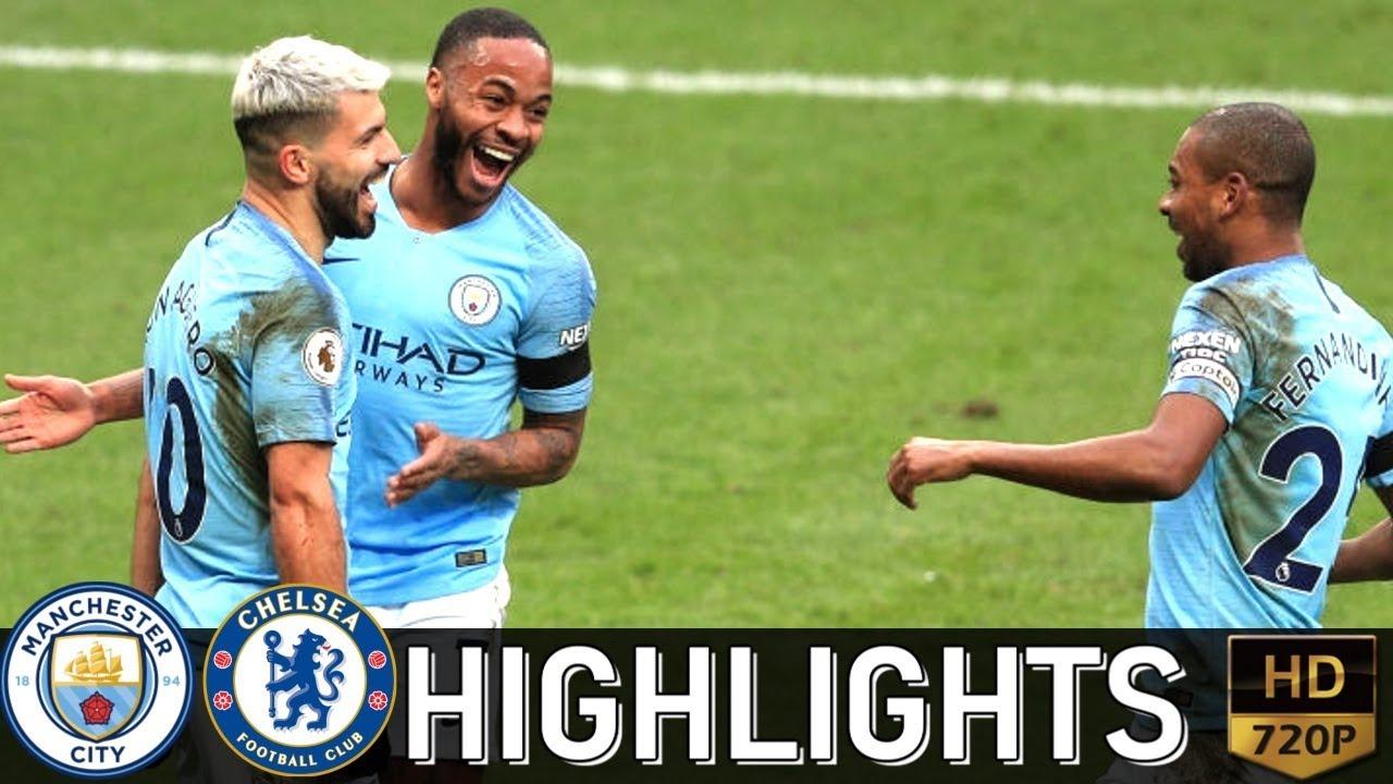 Manchester City 6 - 0 Chelsea (Feb-10-2019) Premier League Highlights