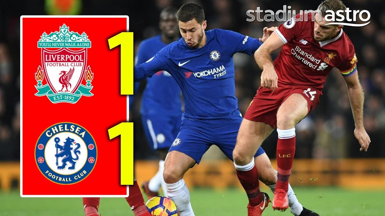 Liverpool 1 - 1 Chelsea (Nov-25-2017) Premier League Highlights