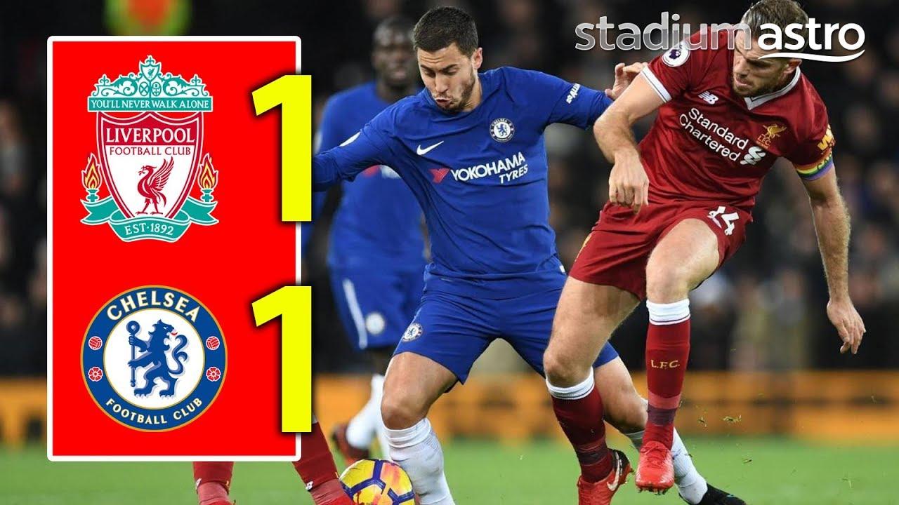 Liverpool 1 - 1 Chelsea (Nov-25-2017) Premier League Highlights