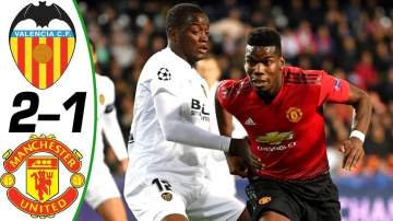 Video: Valencia 2 - 1 Manchester United (Dec-12-2018) Champions League Highlights