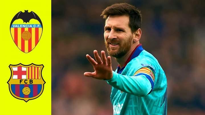 Valencia 2 - 0 Barcelona (Jan-25-2020) LaLiga Highlights