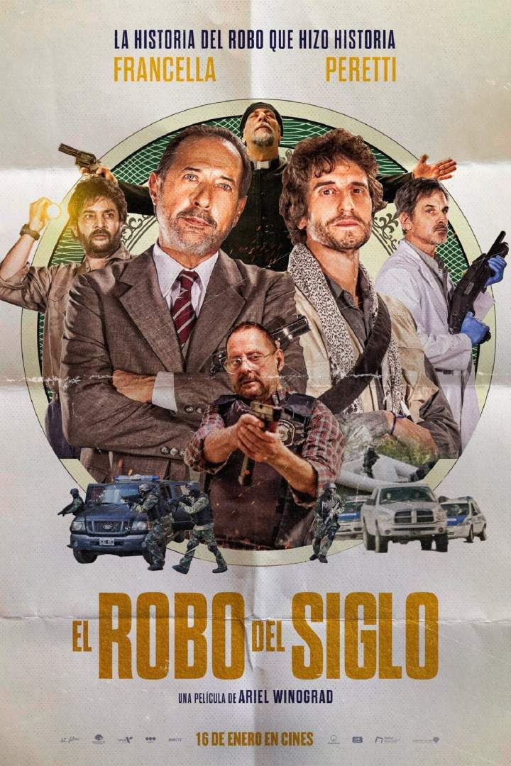 The Heist of the Century (2020) [Spanish]
