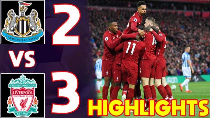 Newcastle United 2 - 3 Liverpool (4-MAY-2019) Premier League Highlights