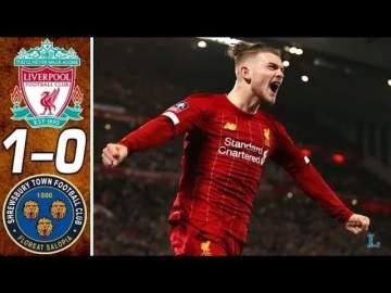 Video: Liverpool 1 - 0 Shrewsbury (Feb-04-2020) FA Cup Highlights