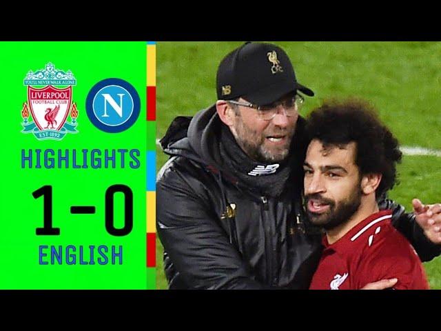 Liverpool 1 - 0 Napoli (Dec-11-2018) Champions League Highlights