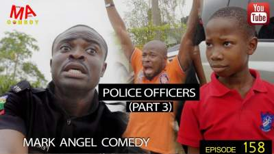 Comedy Skit: Mark Angel Comedy - Episode 158 (Police Officers 3)
