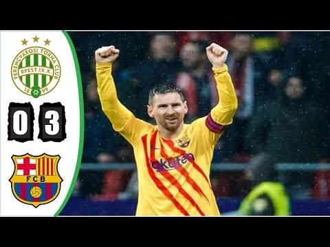 Video: Ferencvaros 0 - 3 Barcelona (Dec-02-2020) UEFA Champions League Highlights
