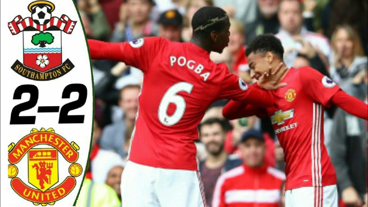 Southampton 2 - 2 Manchester United (Dec-01-2018) Premier League Highlights