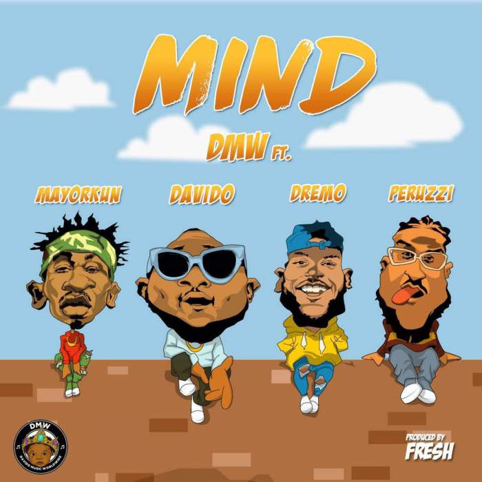 DMW - Mind (Instrumentals) (feat. Davido, Mayorkun, Dremo & Peruzzi)