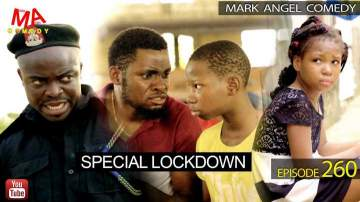 Comedy Skit: Mark Angel Comedy - Episode 260 - (Special Lock Down)