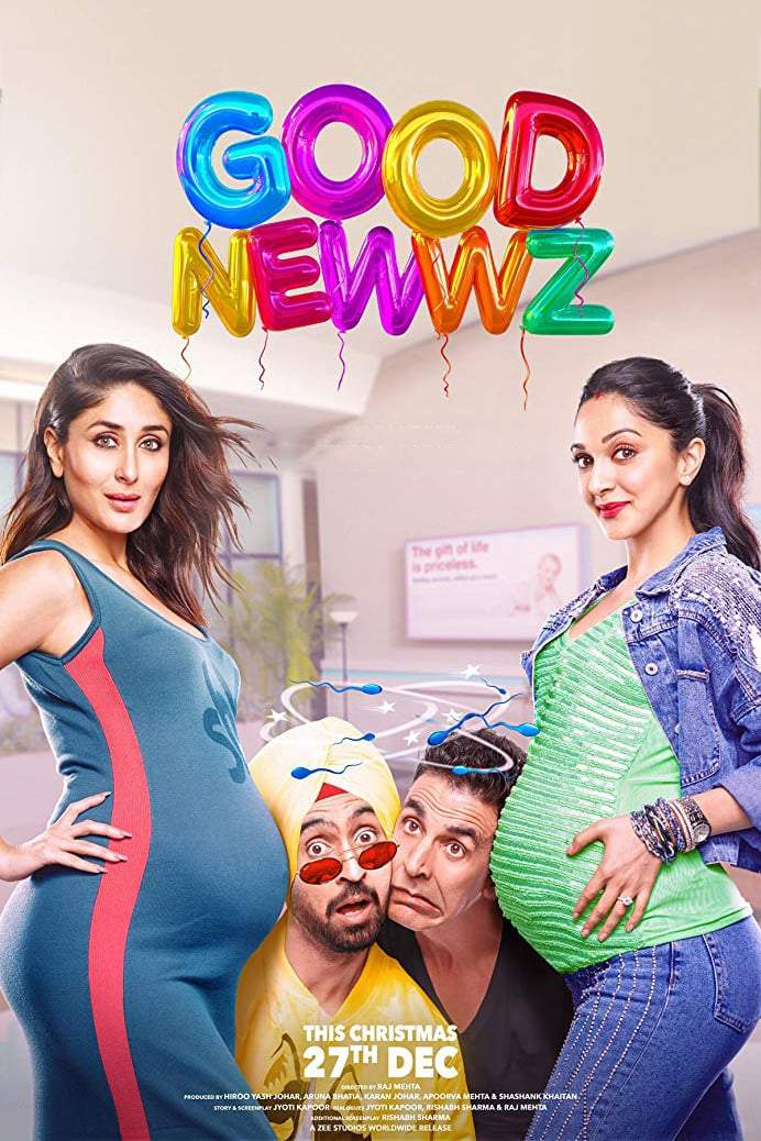 Good Newwz (2019) [Indian]