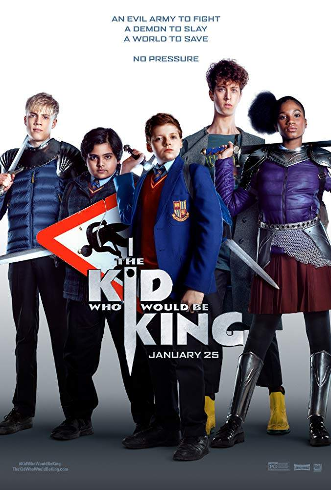 FRESH MOVIE :The Kid Who Would Be King (2019) [HC-HDRip]