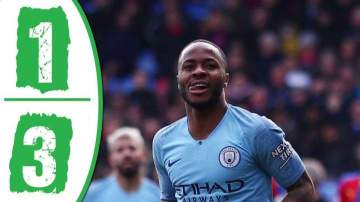 Video: Crystal Palace 1 - 3 Manchester City (14-APR-2019) Premier League Highlights