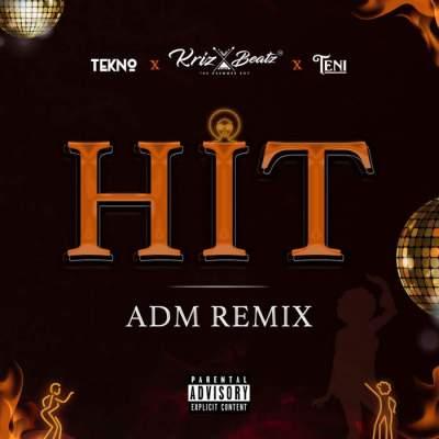 Music: Krizbeatz - Hit (ADM Remix) (feat. Teni & Tekno)