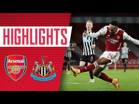 Arsenal 3 - 0 Newcastle (Jan-18-2021) Premier League Highlights