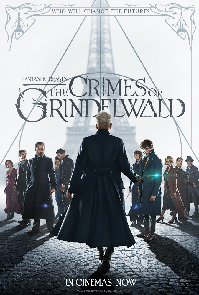 Fantastic Beasts: The Crimes of Grindelwald (2018) [HC-HDRip]