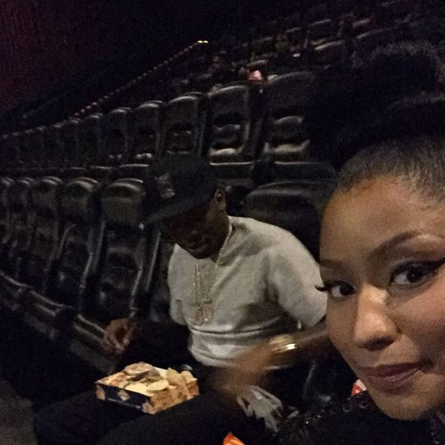Nicki Minaj Twerks for Meek Mill In Thongs