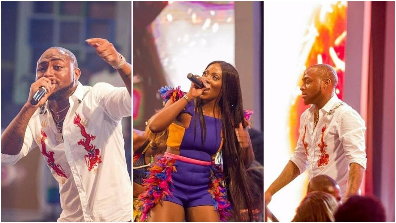 Photos: Davido, Tiwa Savage, Falz & More Rock The Stage at the #GhanaMeetsNaija 2017 Concert