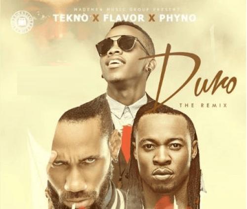Tekno - Duro (Remix) (feat. Phyno & Flavour)