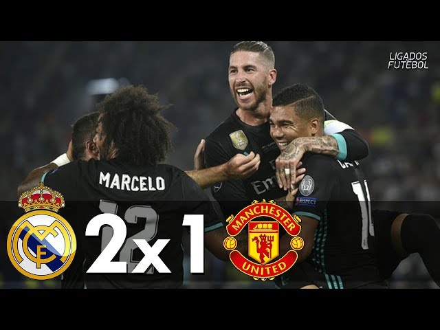 Real Madrid 2 - 1 Manchester United (Aug-8-2017) UEFA Super Cup Highlights