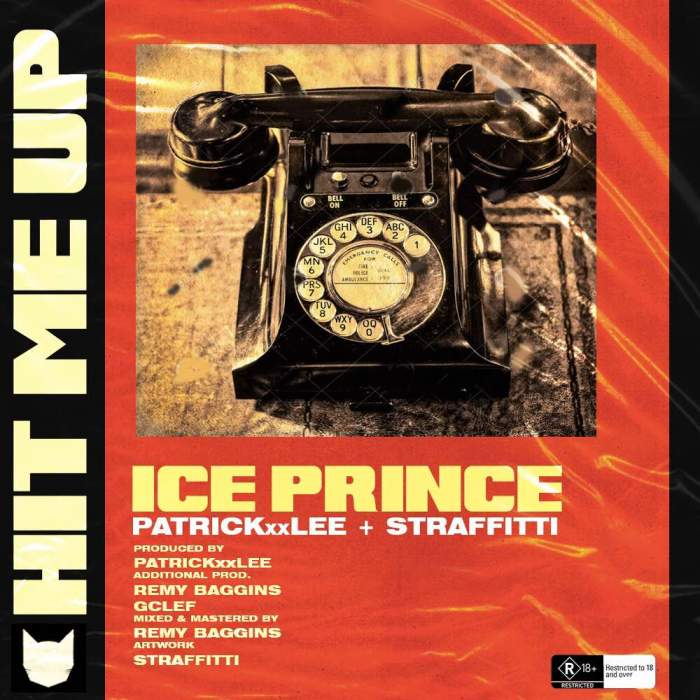 Ice Prince - Hit Me Up (feat. PatrickXXLee & Straffitti)
