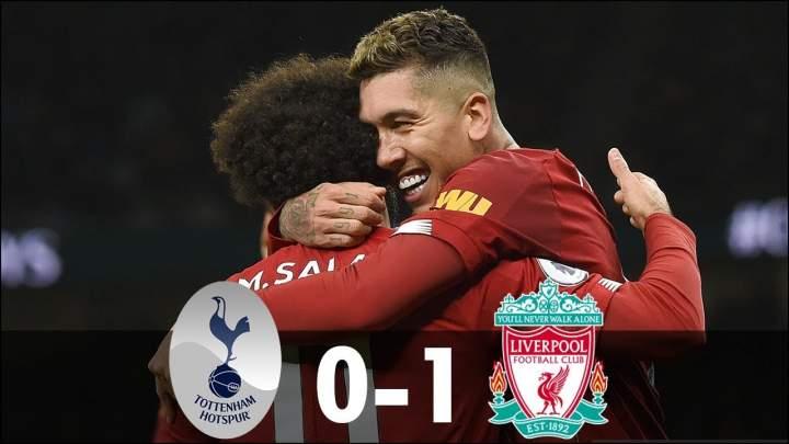 Tottenham 0 - 1 Liverpool (Jan-11-2020) Premier League Highlights