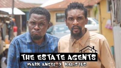 Comedy Skit: YAWA - Episode 53 (The Estate Agents) [Starr. Mark Angel]