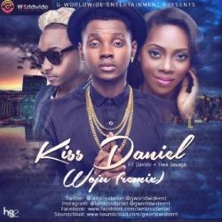 Kiss Daniel - Woju (Remix) (feat. Davido & Tiwa Savage)
