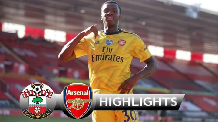 Southampton 0 - 2 Arsenal (Jun-25-2020) Premier League Highlights