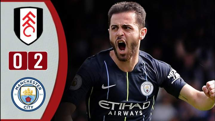 Fulham 0 - 2 Manchester City (30-Mar-2019) Premier League Highlights