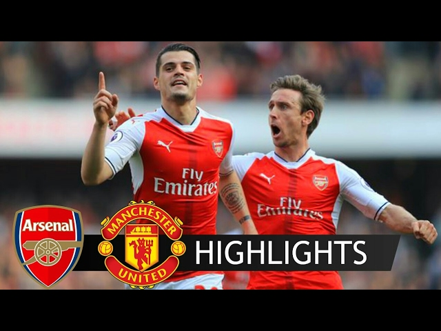 Arsenal 2 - 0 Manchester United (May-7-2017) Premier League Highlights