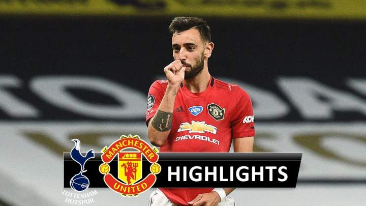 Tottenham 1 - 1 Manchester Utd (Jun-19-2020) Premier League Highlights