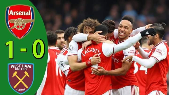 Arsenal 1 - 0 West Ham (Mar-07-2020) Premier League Highlights