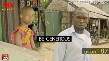 Comedy Skit: Mark Angel Comedy - Episode 187 (Be Generous)